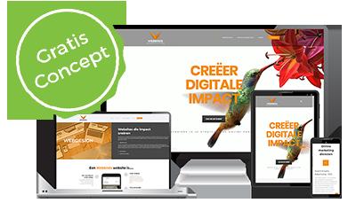 Gratis concept webdesign webbirds